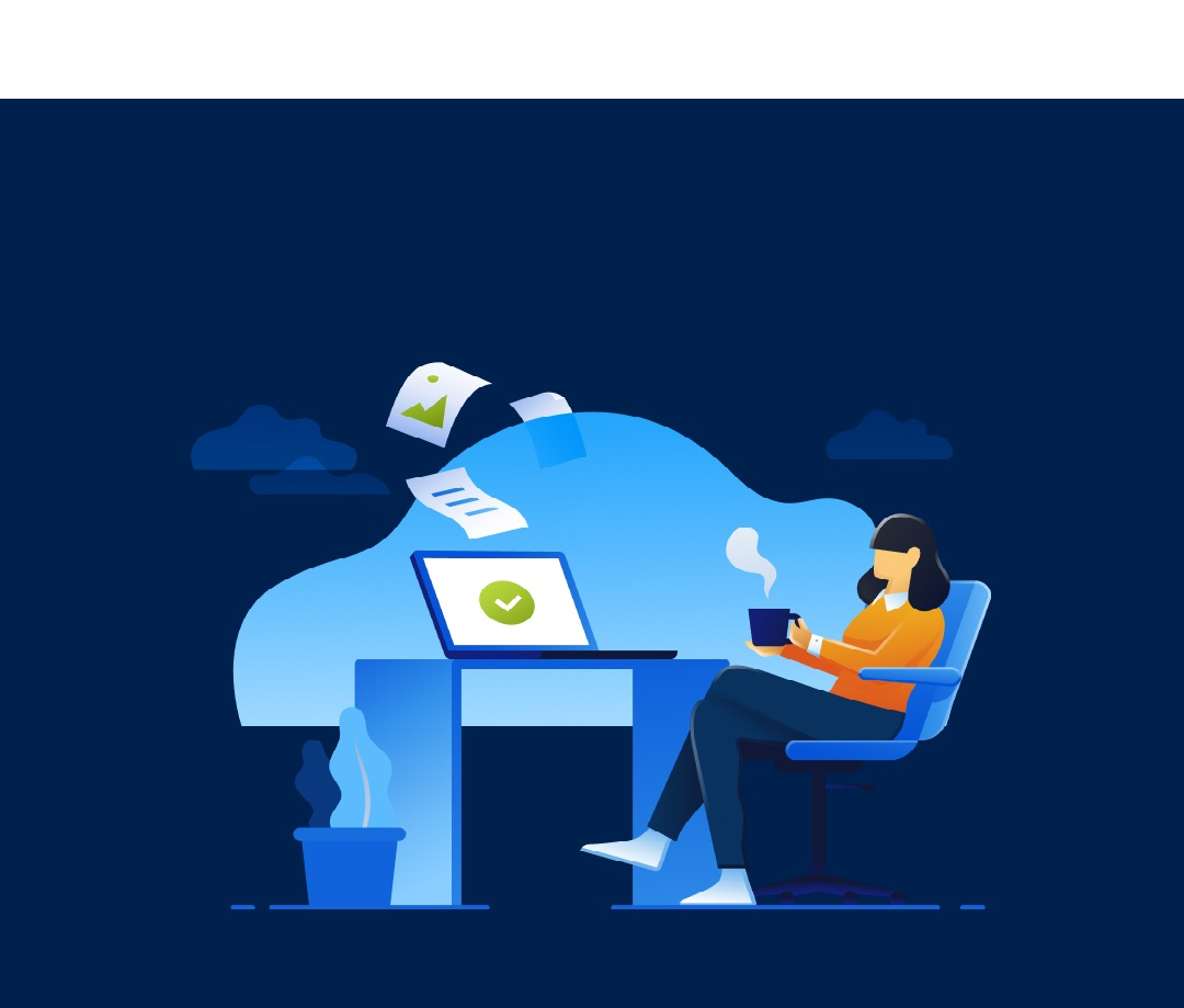 Top tips for safe working from home, from our friends at Acronis